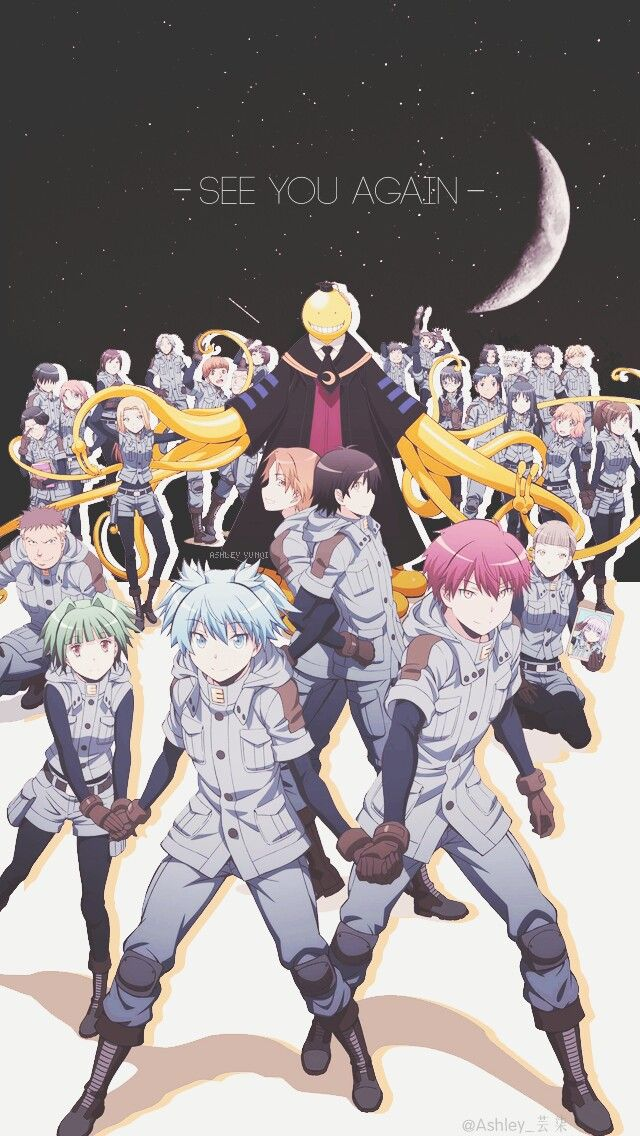 Anstsu Kyoushitsu-class 3E. The coolest assassin team in anime ^^