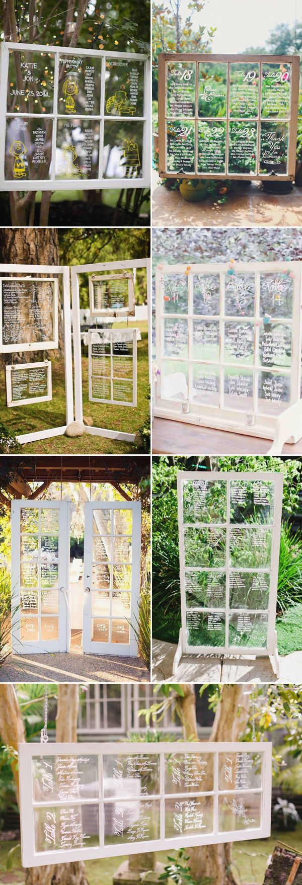 25  Wedding Seating Chart Ideas Your Guests Will Love! | http://www.deerpearlflowers.com/wedding-seating-chart-ideas-your-guests-will-love/