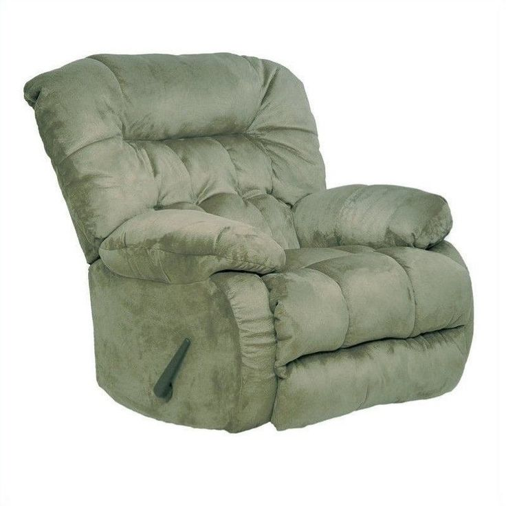 Lowest price online on all Catnapper Teddy Bear Oversized Rocker Recliner Chair in Sage - 45172222015