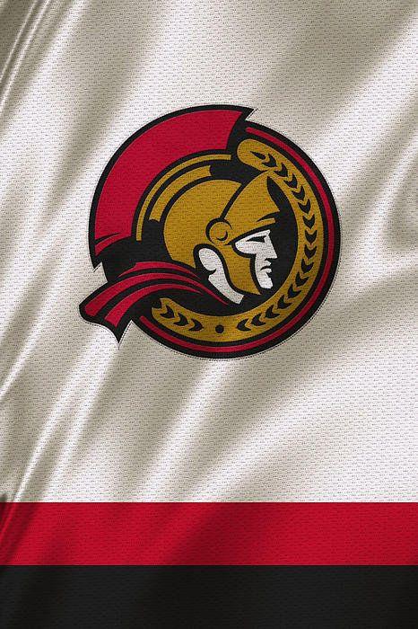 Ottawa Senators Print By Joe Hamilton