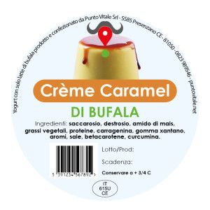 Dessert di bufala, gusto Crème Caramel: http://www.puntovitale.net/shop/dessert-di-latte-di-bufala/creme-caramel