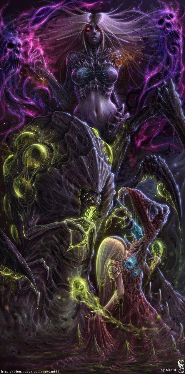 We are the swarm. by GothmarySkold on DeviantArt - Starcraft