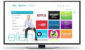 "Ellen TV - Win a 55"" TCL Roku Smart LED TV - http://sweepstakesden.com/ellen-tv-win-a-55-tcl-roku-smart-led-tv/"