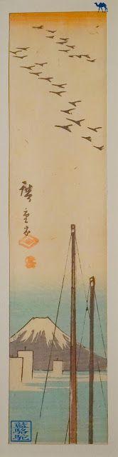 Après Hawaii,  nous repartons du côté du Japon, du moins localement avec la sublime exposition d'estampes japonaises qui se déroule actuellement au Musée Guimet à Paris. Hiroshige, Hokusai, Kuniyoshi…Les oeuvres de ces grands maitres japonais sont présentes à l'expo.    #Voyage #Paris #mnaag #musée #exposition #estampe #japonais #Guimet #Hokusai #Hiroshige #Kuniyoshi #Hasui #art #Paysage #mont #fuji #japanese #print #landscape #painting
