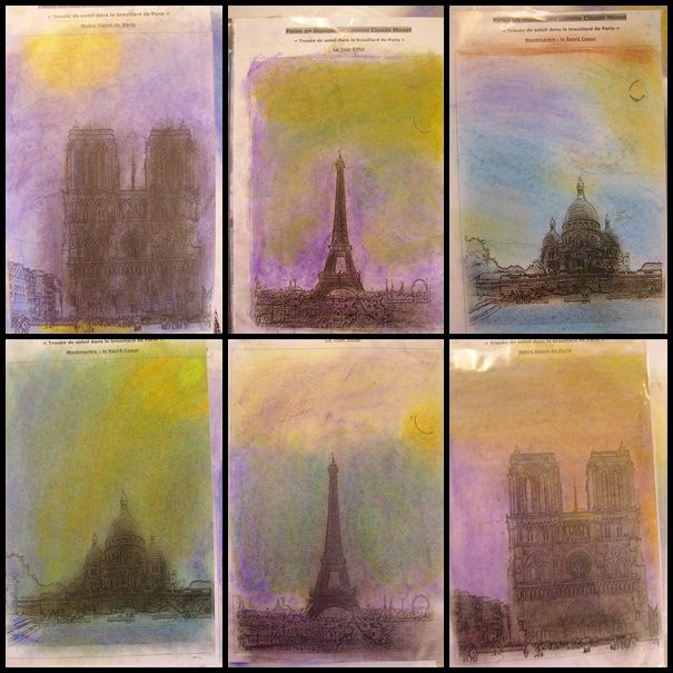 L'enfance de l'art - les productions de mes élèves de CM1/CM2 en arts visuels, mes fiches d'histoire des arts