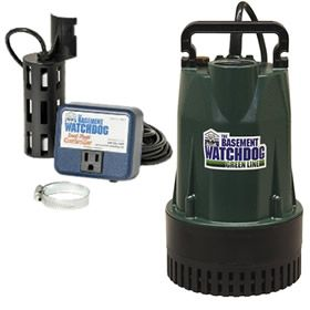 Basement Watchdog BW1050 BW1050 - 1/2 HP Cast Iron Submersible Sump Pump w/ Vertical Float Switch at Sump Pumps Direct includes free shipping, a factory-direct discount and a tax-free guarantee.