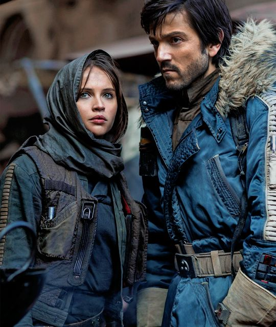 Rogue One a Star Wars Story production still.