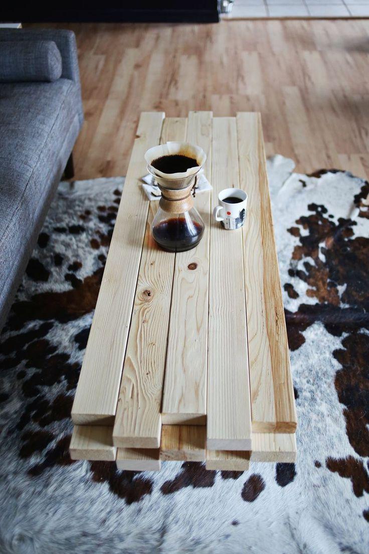 20 idées pour fabriquer une table basse avec des palettes…