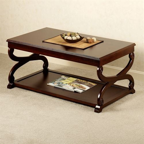 Class Paxton Coffee Table Rich Mahogany, Touch Of Class Furniture