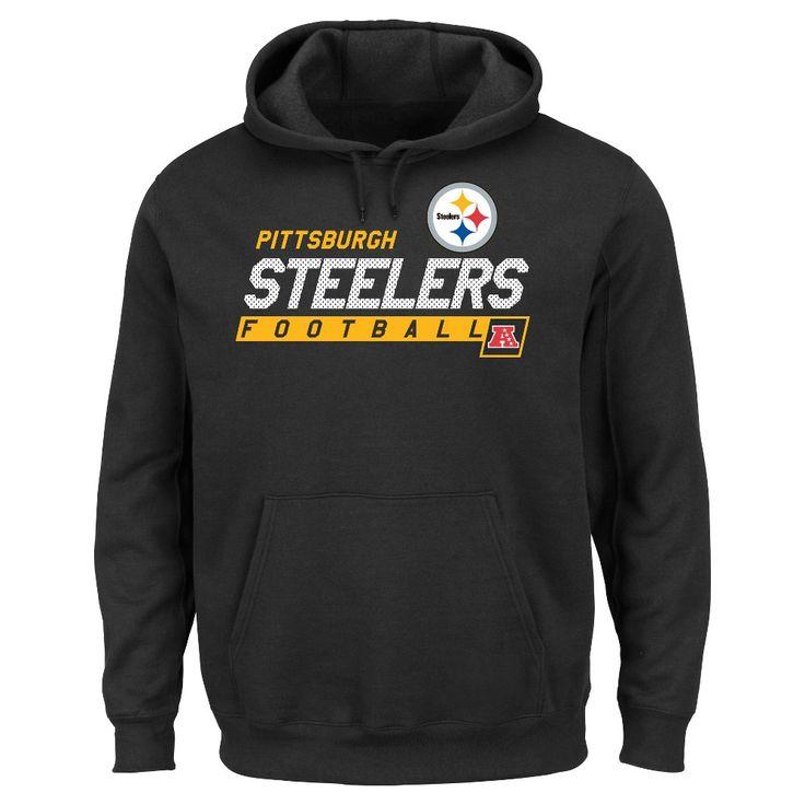 Pittsburgh Steelers Men's Big & Tall Team Pride Fleece Pullover Hoodie Sweatshirt - 3XL Tall