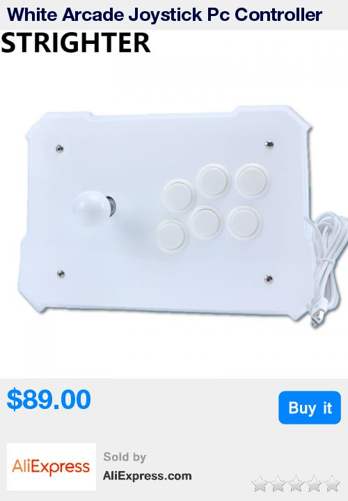 White Arcade Joystick Pc Controller Computer Game Joystick Usb Connector New King of Fighters Joystick Consoles * Pub Date: 07:13 Aug 15 2017