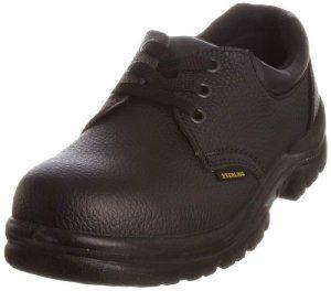 Sterling Safetywear Sterling Steel SS402SM, Chaussures sécurité homme – Noir (Noir – V.3)-V.6, 42 EU
