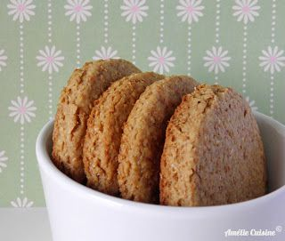 Amélie Cuisine: Home-made Digestive Biscuits