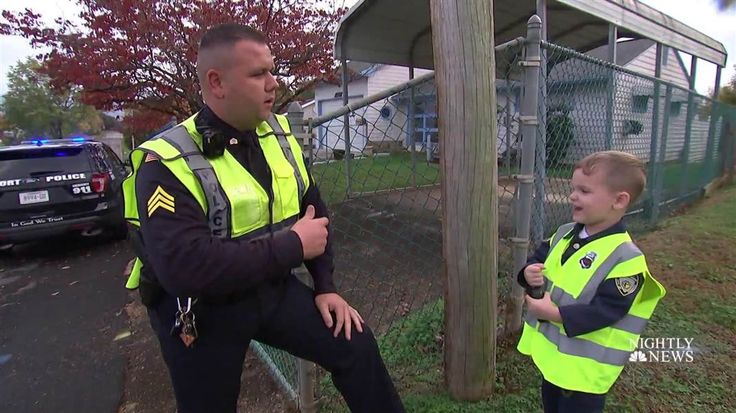 NBC Nightly News' Lester Holt profiles an unlikely crime-fighting duo in Tennessee: Sgt. Justin Vinson, a 14-year veteran of the local police department, and Sawyer, an adorable 4-year-old who lives in the area. https://plus.google.com/+CaptainJack63/posts/BLzzgac7onS