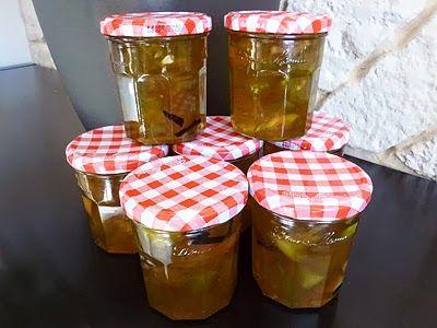 CONFITURE DE PASTEQUE - Confiture délicieuse. Un classique dans le Sud de la France. On peut remplacer les quartiers de citrons par : jus et zestes d'un citron et d'une orange.