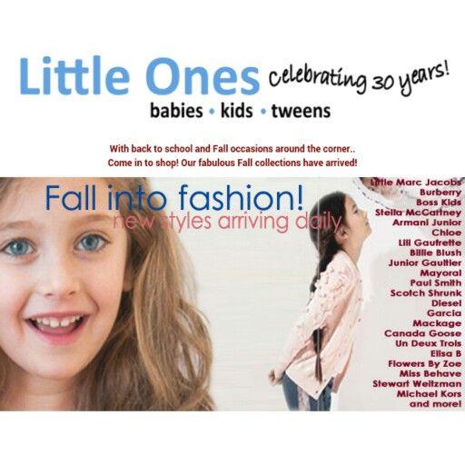Whats new for Fall? fabulous fashion!