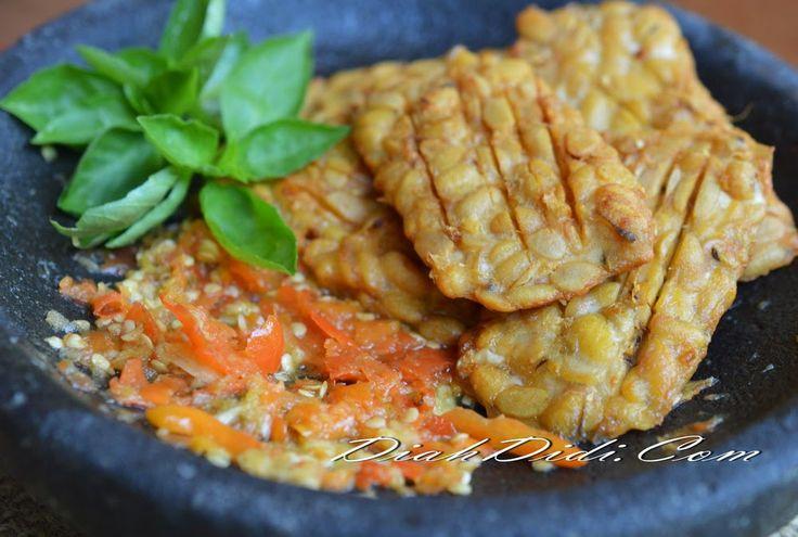 Diah Didi's Kitchen: Sambal Korek & Tempe Goreng