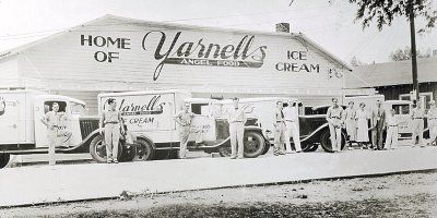 Yarnell's Ice Cream, made in the state of arkansas