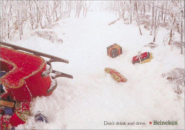 Heineken: Santa  icince arac surmeyin, noel baba olsaniz bile