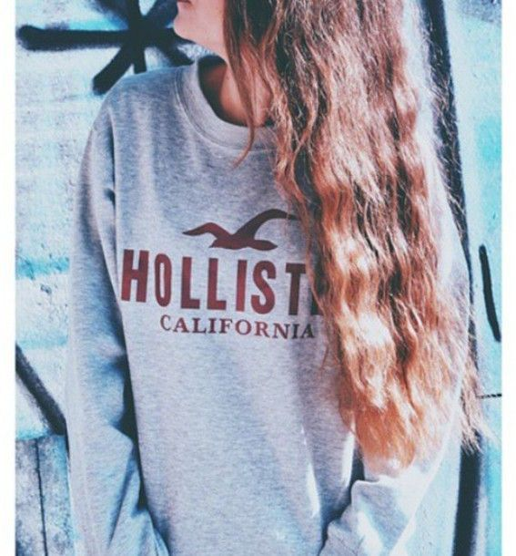 Hollister crewneck sweatshirt