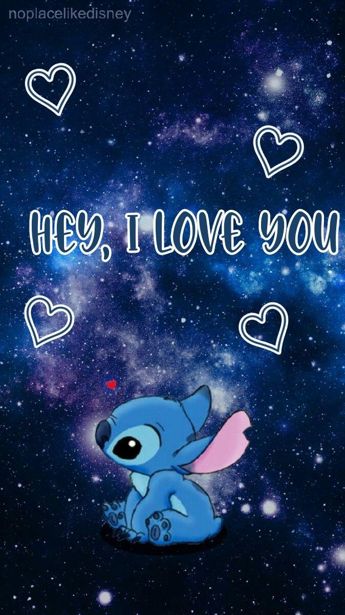 Hey I Love You Iphone Wallpaper Girly Disney Phone Wallpaper Cute Disney Wallpaper