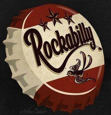 Rockabilly style #rockabilly