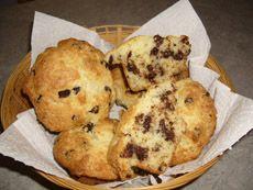 Muffins au chocolat et à la crème sure