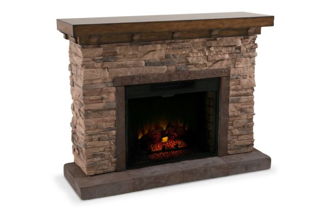 Emily Fireplace | Bobs, Stone fireplaces and Fireplaces