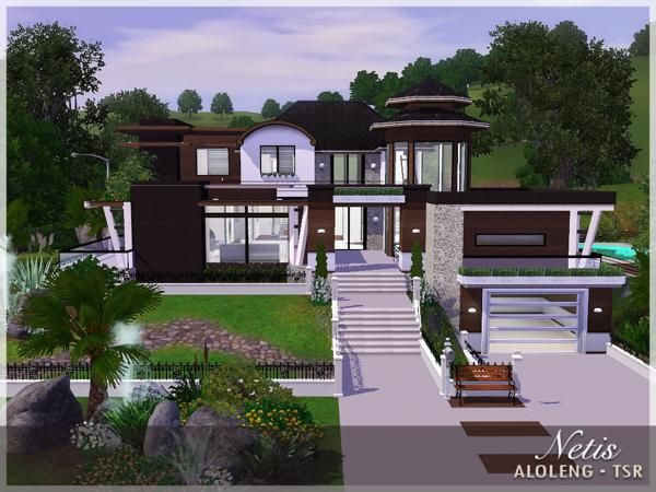 229 best The Sims 3 house design images on Pinterest | The sims ...