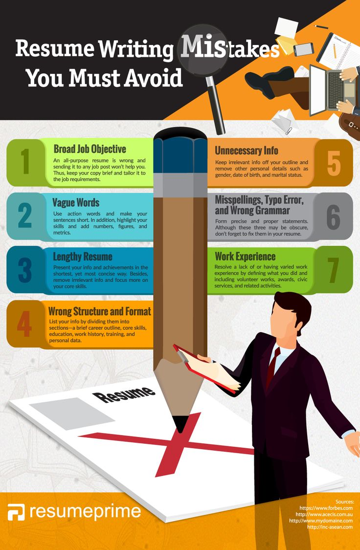resume writing mistakes 14 best Resume Tips