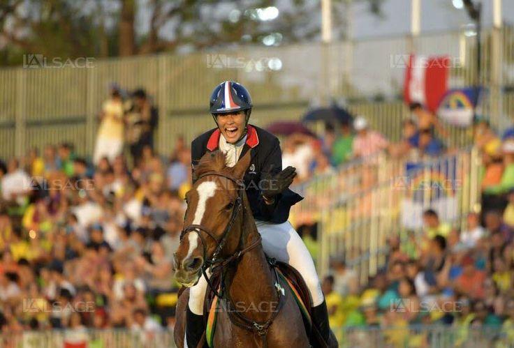 Elodie Clouvel, médaillée d'argent sur le pentathlon moderne. Photo AFP