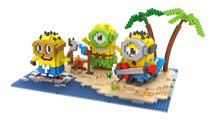 LOZ Minions in tropical island park ,don't miss it