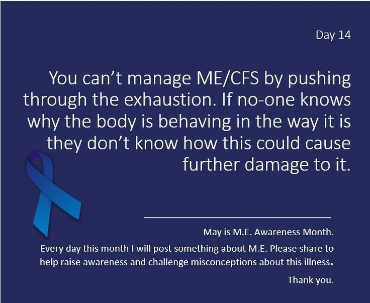 chicaguapa @chicaguapa 5h5 hours ago  Day 14 of #MEawarenessmonth Pls follow & RT to keep these messages alive. Help support people living with #ME and #CFS thru understanding