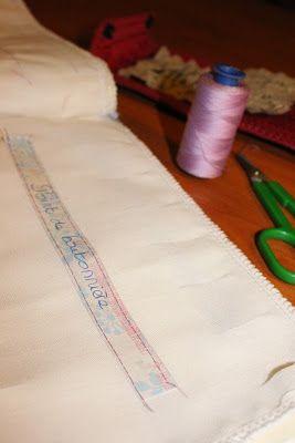 CAP Couture flou: Cahier de coutures