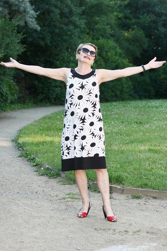 Hana Maciuchová je po návratu z dovolené plná energie.