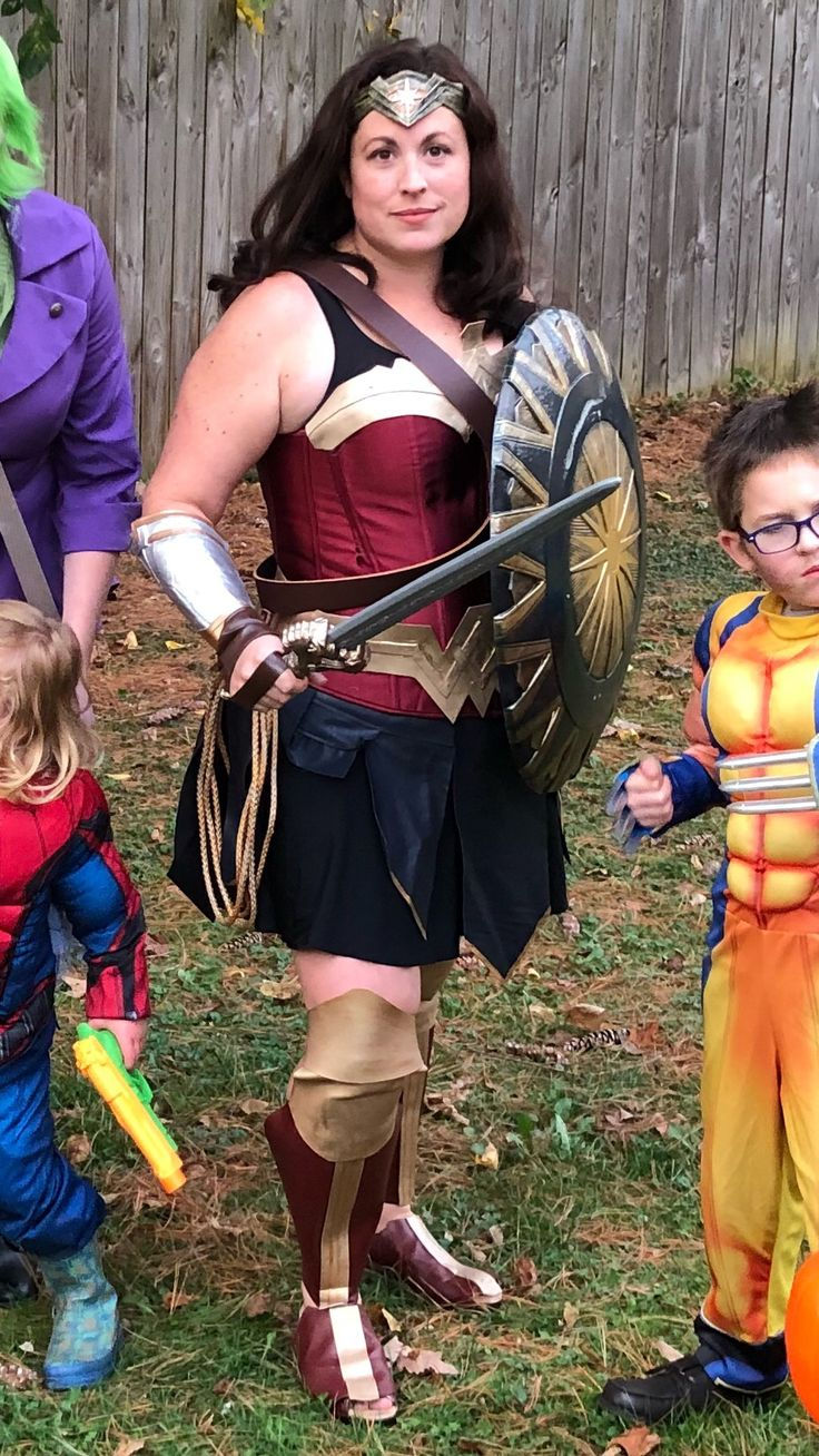 Wonder woman halloween ideas-2089
