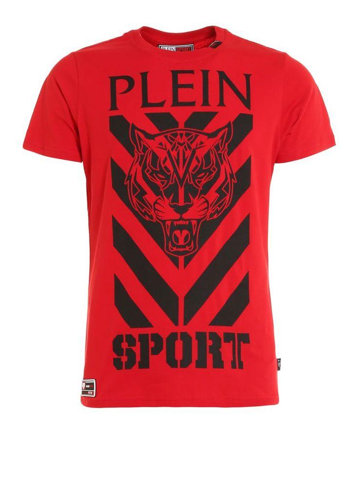 PHILIPP PLEIN Shooter Cotton T-shirt. #philippplein #cloth #