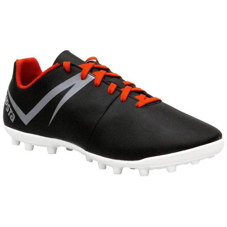 Check out our New Product  First 100 FG adult firm ground football boots in black white grey Accessories Made for playing 11 or 7 a side football on grass or artificial grass pitches once or twice a week.These adult football boots are perfect for starting to play. They are resistant to repeated use and wearing on firm pitches.  ₹1,099