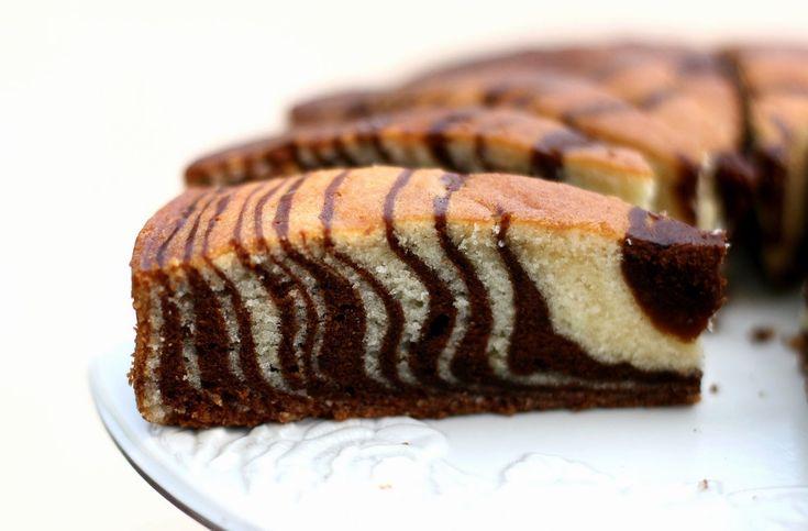 Υπέροχο+κέικ+ζέβρα!!!!Συνταγη+βημα+βημα