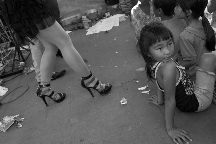 CAMBODIA. Phnom Penh. 10/12/2011: Boeung Kak lake community celebrating Human Rights Day.