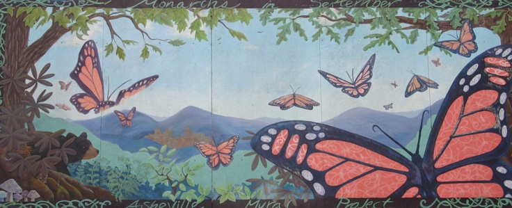 17 best images about murals on pinterest trees photo for Asheville mural project