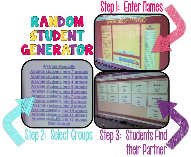 """Do you ever need to pick students to work with partners or in groups, but get tired of pulling sticks or having them find their own partners with a handful never being able to find someone to work with?  I have three fun ideas for you that my students love!"""