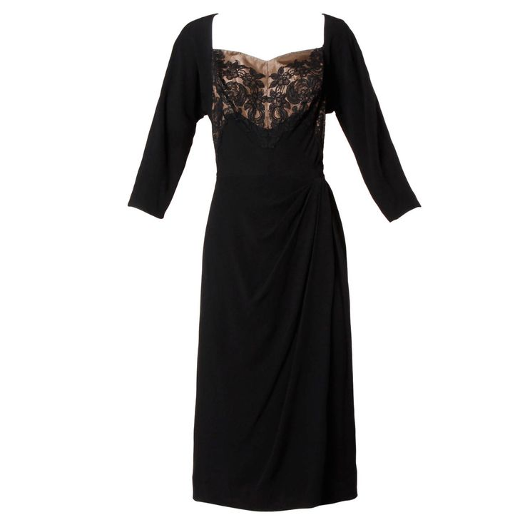 besten 25 black lace cocktail dress ideen auf pinterest
