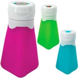 Never waste a drop of product again with this flexible silicone travel bottle.  Other sizes are available  Starts at $4.25