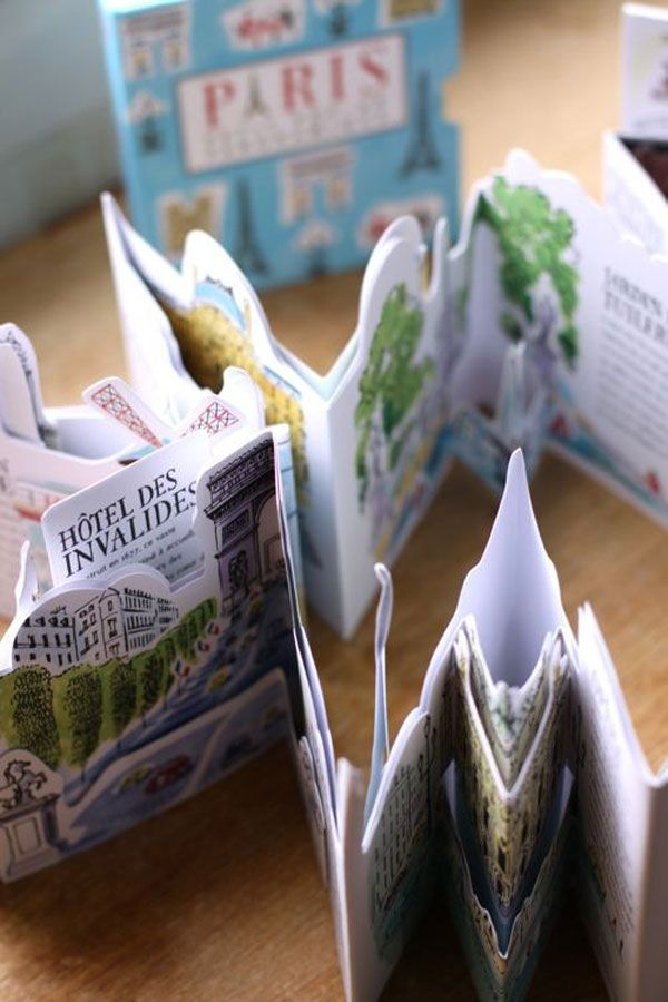 pop-up city books Pop up silhouette book - could be used for a cheltenham street, text and info included