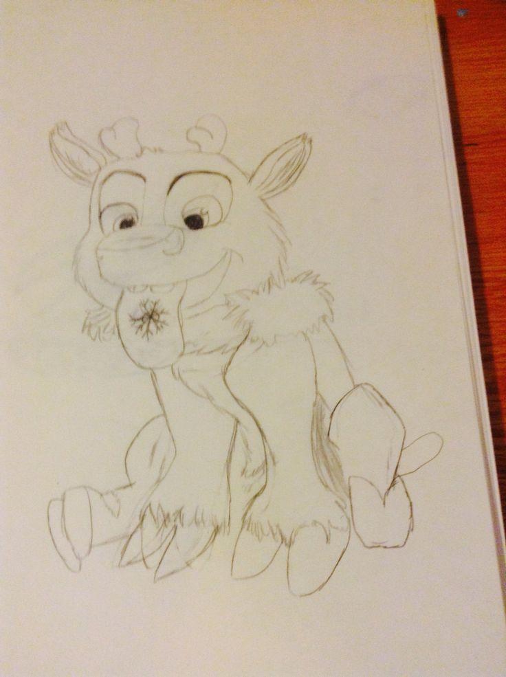 This is baby Sven I drew