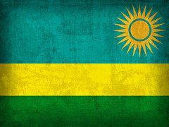 Rwanda Flag Art - Rwanda Flag Vintage Distressed Finish by Design Turnpike