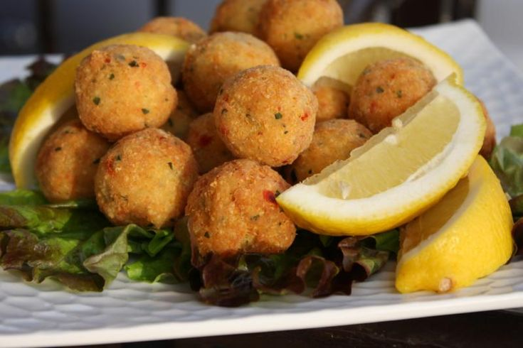 Spicy Fish Balls - Caribbean style