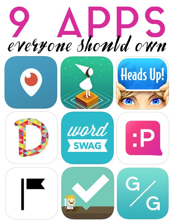 9 Apps Everyone Should Own