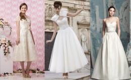 Vestido de novia estilos de 1920 a 1960 para la boda vintage. FOTOS